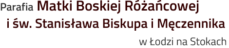 Strona parafii Matki Boskiej Różańcowej